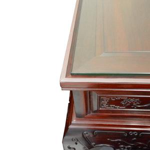 红木家具台面与玻璃防滑垫条茶几钢化玻璃垫片防尘餐桌面防水胶条