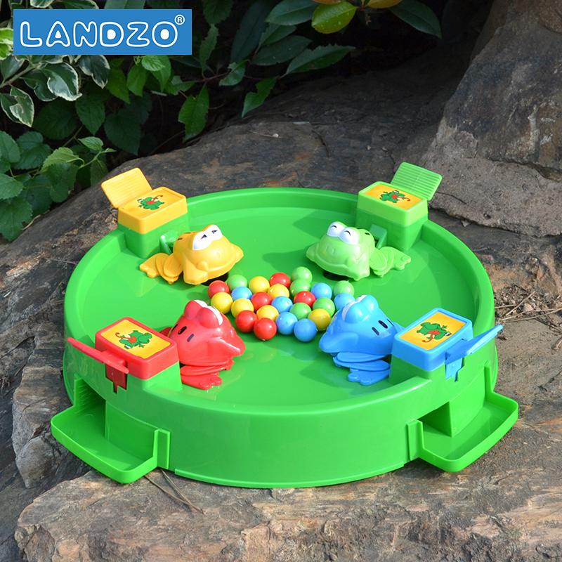 抖音同款,LANDZO 蓝宙 WJ.01.0011 大号青蛙吃豆玩具