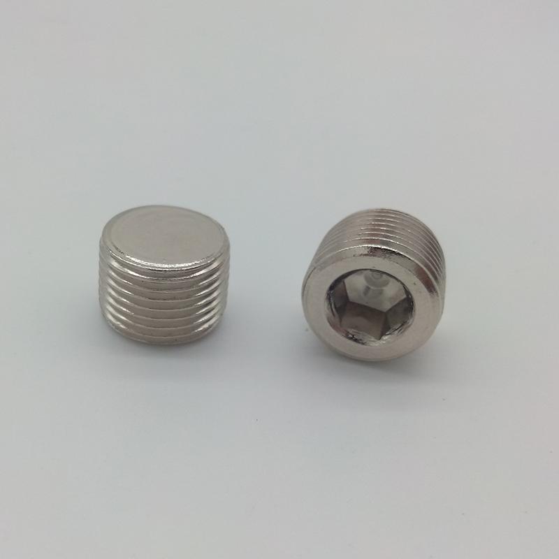As Estrelas DESTO pneumático 德士托内 hexagonal ROSCA externa EM Cobre plug 1 2 3 4 a 6 Pontos