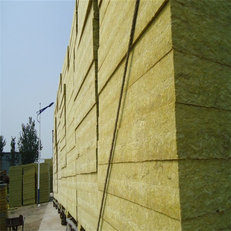 Parede de Placa de isolamento de lã de Rocha basáltica com repelente de água de fogo de isolamento lã de Rocha painel composto A1 do material de isolamento térmico acústico