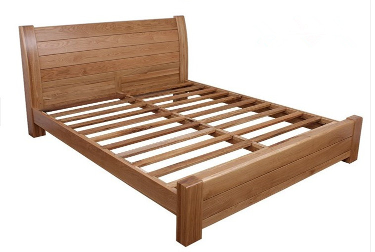 Sheng Xin simple white oak bed box storage bed single bed double bed tatami Furniture Customization