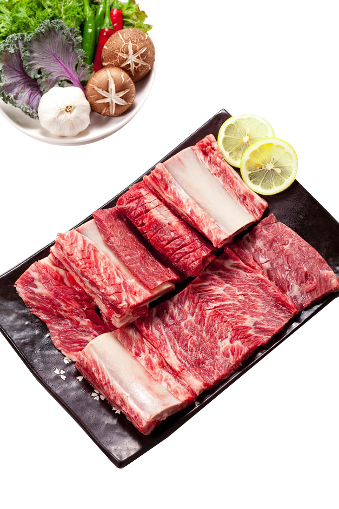 Best polar Liangshan specialty Wujin Pork Chop osteosarcoma /500g Butuo pasture freshly killed pig pig