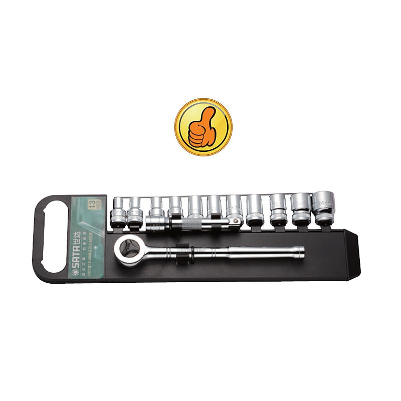 SATA13 Stück CEDEL Instrument 12.5MM schraubenschlüssel setzt sich die Gruppe 09525 Ratchet, kombination