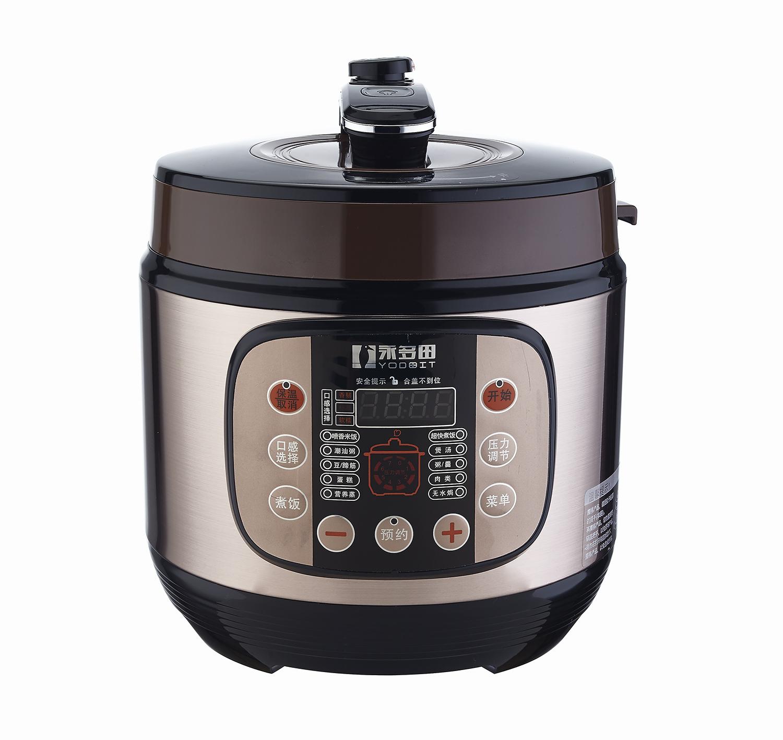 تيان يونغ متعددة ذكي طنجرة ضغط كهربائية YDT60-100U15A مثانة مزدوجة الحجز ستايل حساء السلامة.