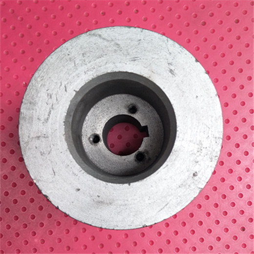 188F190F192F gasoline engine flat key shaft power 4 slot B belt pulley inner diameter 25 outer diameter 100