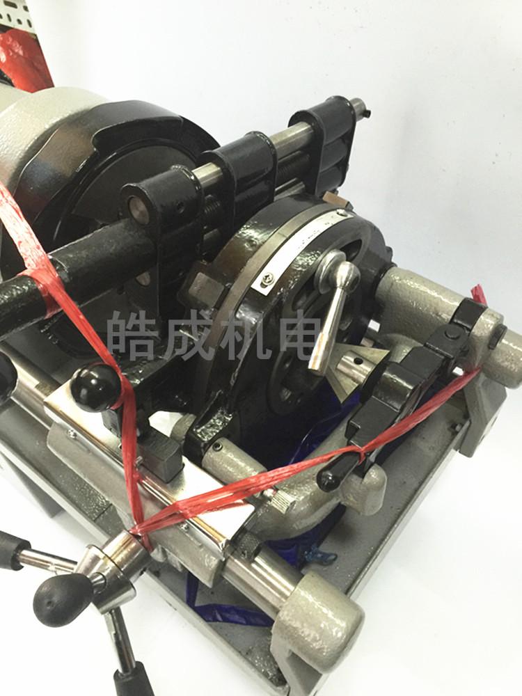 Le prix de 2 pouces de 3 pouces de 4 pouces Jing Tiger efficace de la machine électrique d'une machine de filetage de tuyau de fil électrique pour machine de coupe plus élevée