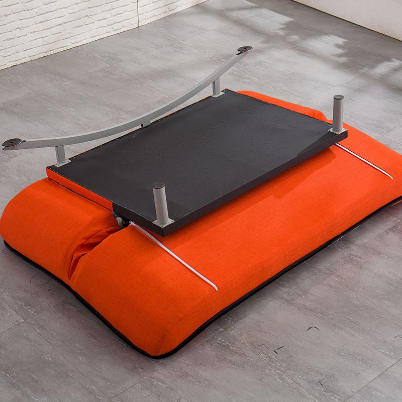 刘家工芸多機能ソファベッド1 . 8メートルの布でペアの小型折りたたみ怠け者ソファベッド