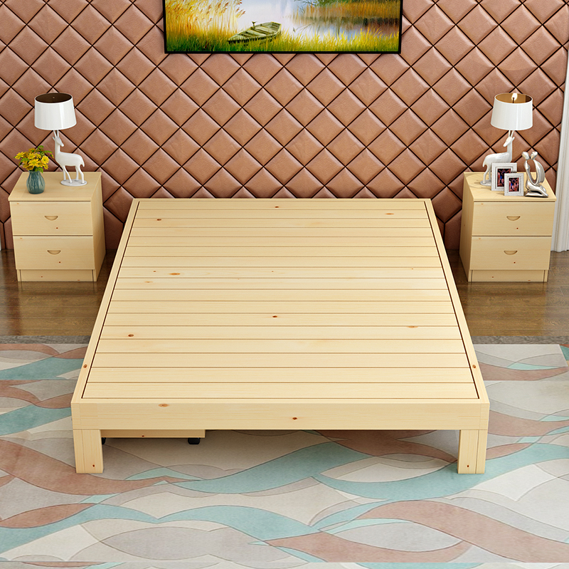 Matsuki Miki 1.5 meters 1.8 meters without the tatami bed bed frame