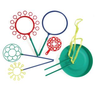 儿童户外大型泡泡圈环大号玩具宝宝吹泡泡神器安全无毒泡泡棒工具