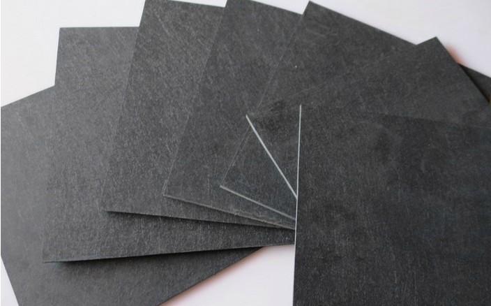 In Germania Le importazioni di fibre sintetiche di Lastre di Pietra in Pietra Nera di Sintesi ad alta temperatura di Pietra di stampo Pannelli isolanti possono essere trasformati in Sintesi