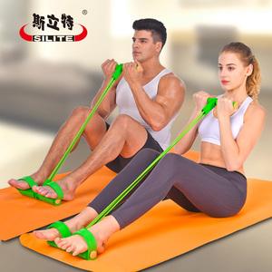 仰卧起坐健身器材 男女减肚子瘦腰辅助拉力带家用运动脚蹬拉力器