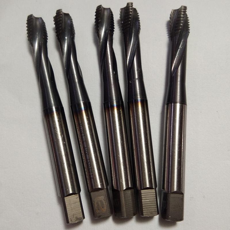 M10-6HX standard dental machine tap OSG, Japan imported CPM powder high speed steel cobalt plating superhard