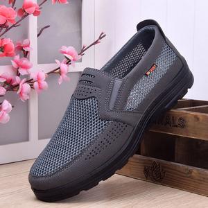 老北京布鞋男士休闲鞋中老年懒人软底防滑防臭舒适大码秋季爸爸鞋
