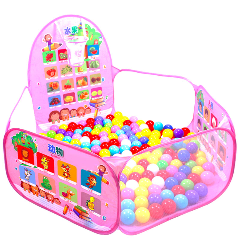 Sea ball pool children 0-1-2 years old toy playground Bobo baby enclosure baby tent ball pool boy