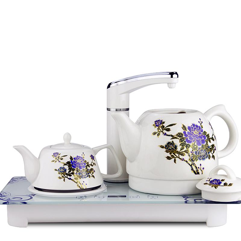 2017 automático Shui hervidor eléctrico el té de cerámica de uso doméstico tetera eléctrica automáticamente el suministro de agua