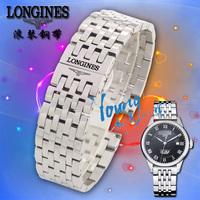 Ο λόντζινους m το ρολόι L2L4 ανδρών και γυναικών με ιμάντα εξαρτήματα από ανοξείδωτο χάλυβα ιμάντα ταινίες ρολόι 20 mm.