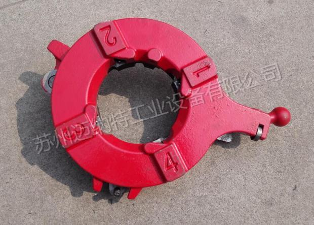 Shanghai brand 2 inch 3 Inch 4 inch electric pipe threading machine accessories die head assembly genuine head