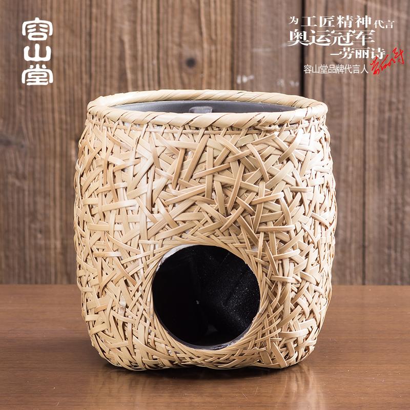 Позвольте 山堂 мин и бамбук электрический Тао печь печь печь, чайник, чай ветер уголь Древесный уголь углерода готовить чай печи