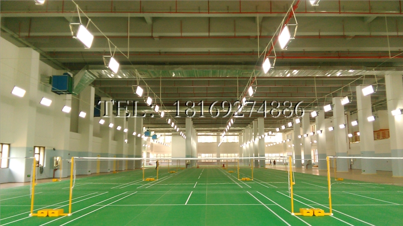 Indoor badminton court, badminton hall, badminton venue lighting special lighting LED single-sided 96 watts