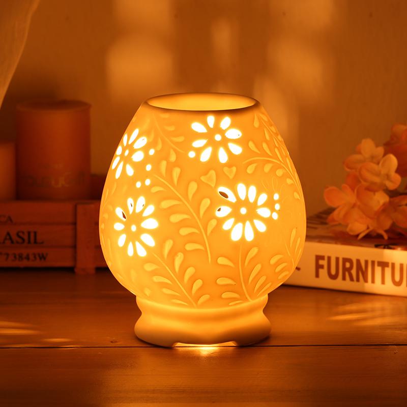 включить электричество керамическая горелка опилки порошок сандалового дерева алой кадильницу терморегуляция сроки лампа может быть сухой печь