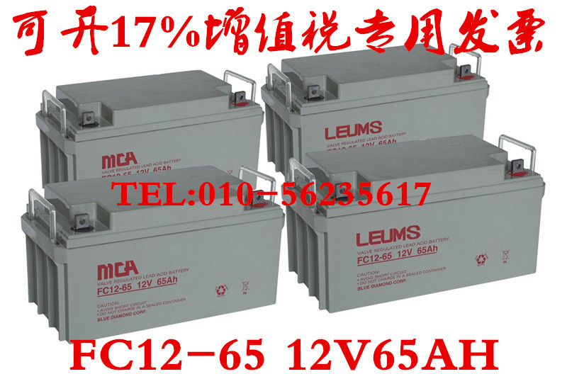 In the country through MCA 12V55AHFC12-55 host /EPS/UPS special power battery fire