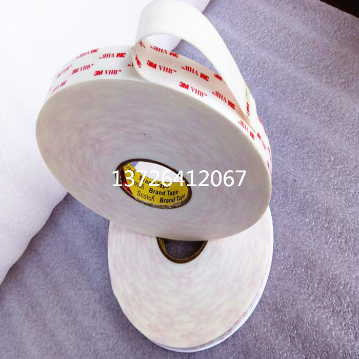 3M genuine 4950VHB acrylic foam tape of super viscous force can be cut as the width of 10mm