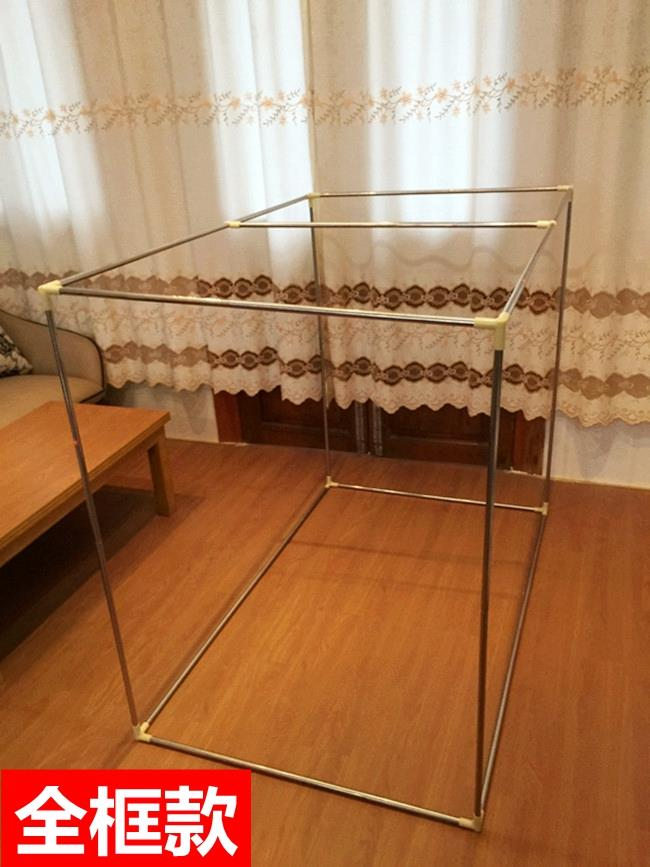 College Students' dormitory dormitory bunk bed curtain support single bed plus 1 meters thick shelf bed frame
