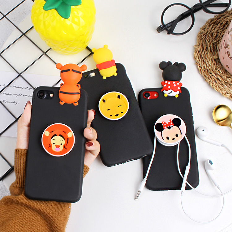 Jin m5/m6plus cute cartoon doll Papa Daisy airbag bracket shell soft shell mobile phone protective sleeve