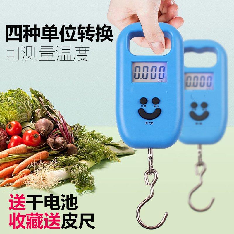 Balança eletrônica de pesagem portátil de gancho de Mola, portátil, mão que balança de Alta precisão de pesagem de alimentos