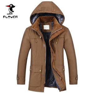 中年棉衣男装爸爸冬装外套加绒加厚款中年棉袄老人爷爷冬季棉服