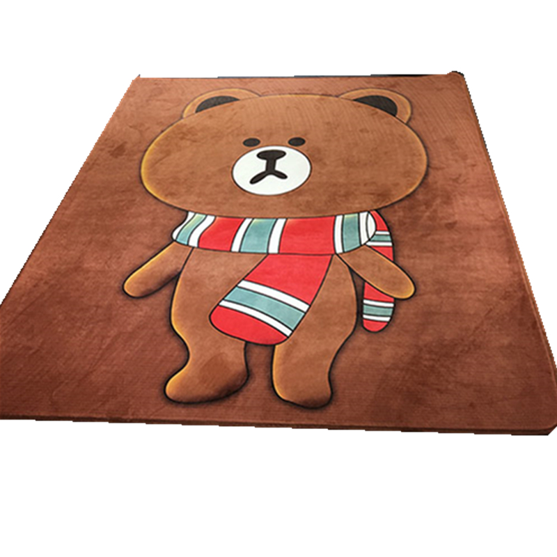 Cartoon baby pad thickening winter tatami infant climbing pad bedroom carpet mats folding game