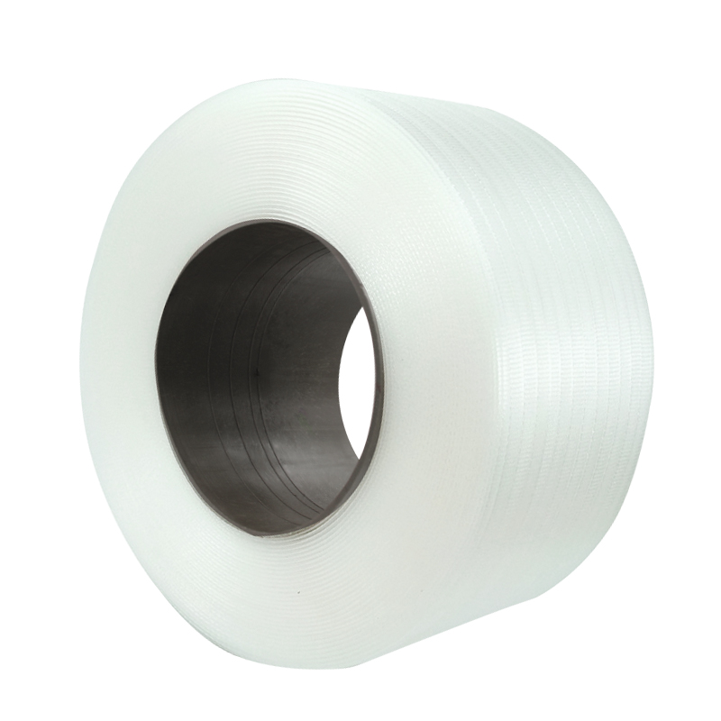 Throw up! Plastic packaging belt PP plastic white transparent automatic semi automatic strapping belt for machine packaging belt