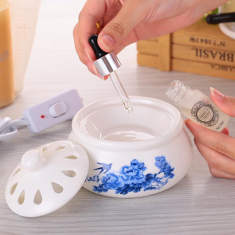 простой современный керамическая горелка спальни романтический плагин мини - Ароматерапия печи керамические электронных Ароматерапия печь