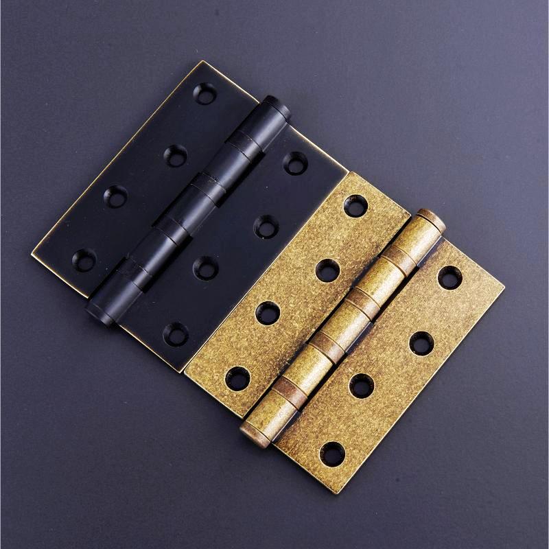 3 inch thickening pure copper hinge, solid wood door hinge, mahogany furniture door hinge, copper hinge door door small hinge