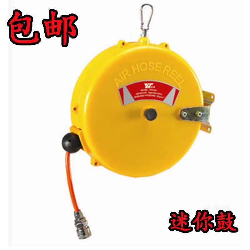 Un dispositif de laminage de tube télescopique de gaz automatique de polyuréthane de préhension de fil de l'outil pneumatique d'un dispositif de récupération de 15 mètres de compresseur d'air pour automobile
