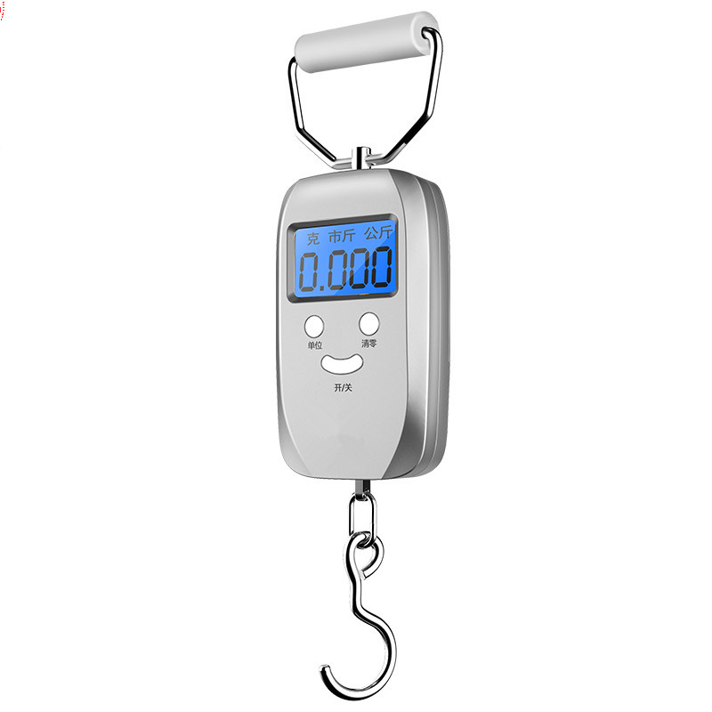 50 home shopping precision portable electronic portable scale with high precision small fishing Express Travel Package said