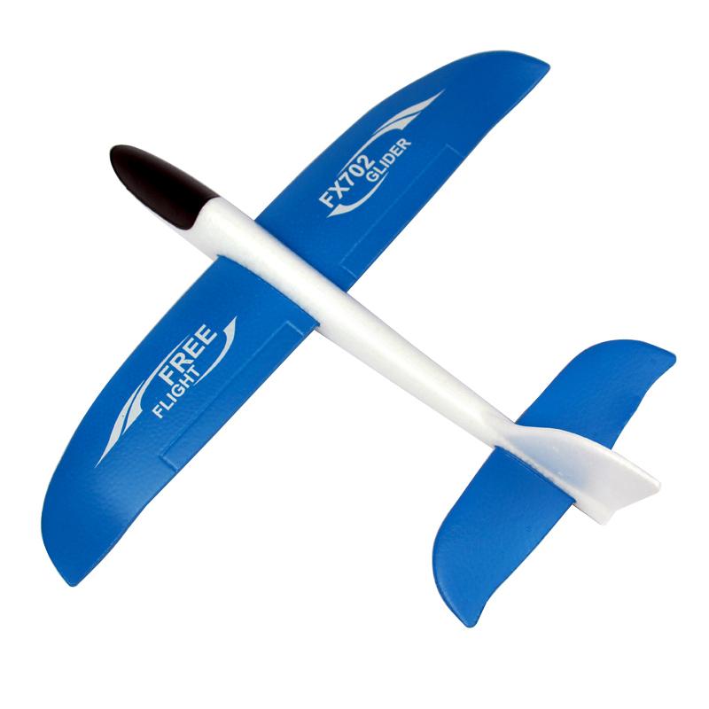 เครื่องบินเครื่องร่อนแบบโฟมขนาดใหญ่ระดับมืออาชีพของเล่นเด็กมือขว้างปาโยนด้วยมือแบบเครื่องบินจำลอง