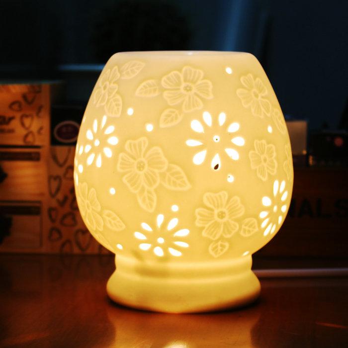 Ароматерапия печи огня перестраиваемый оптический включить свет кадило машина кадильницу опустошается, керамические начало создать аромат