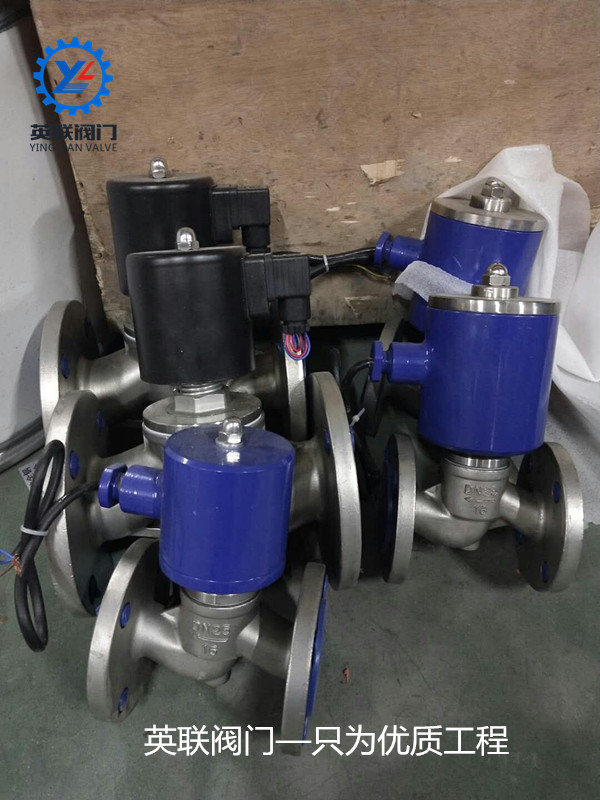 нержавеющая сталь быстрый монтаж электромагнитный клапан зажимы типа ac220v высокой температуры пара электромагнитный клапан фланец