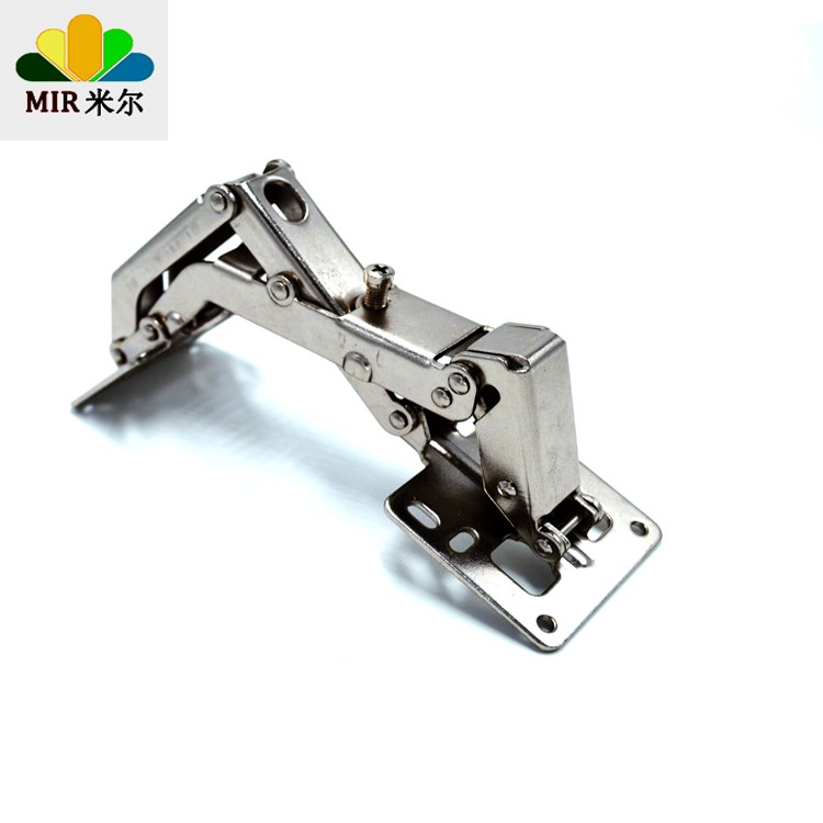 Open 175 degrees 180 large angle free hole Gaihou side 25mm to 45mm clothes cupboard door hinge