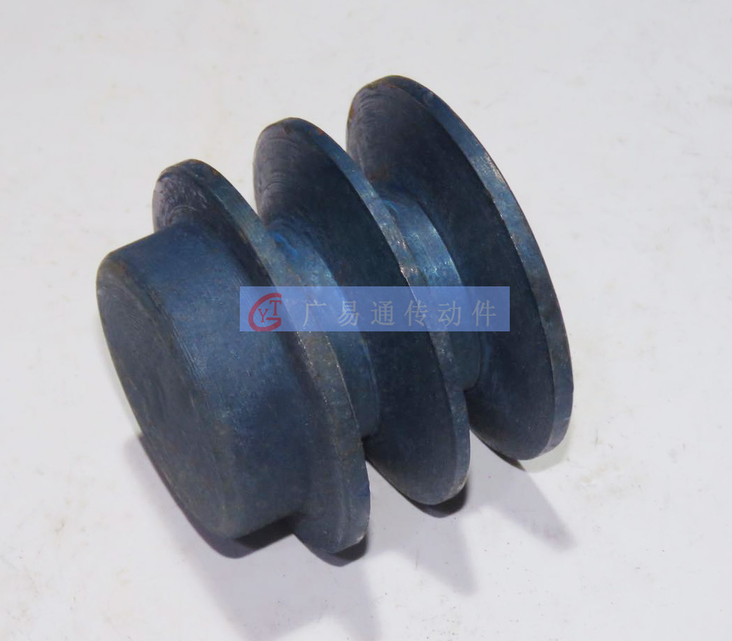 Triangle belt wheel B type two groove diameter 64-610MM pig iron belt pulley cast iron pig iron belt