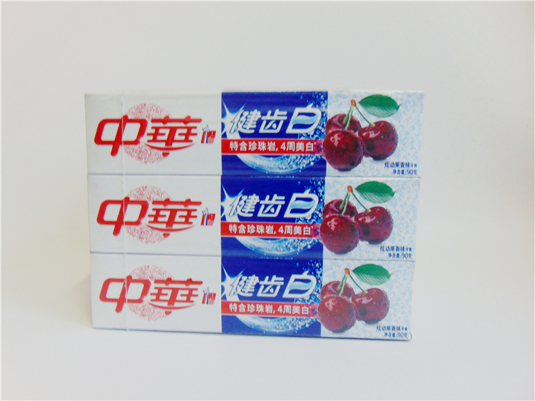 Authentic Chinese Whitening Toothpaste Mint 90g whitening tooth fresh breath 9 bags of mail