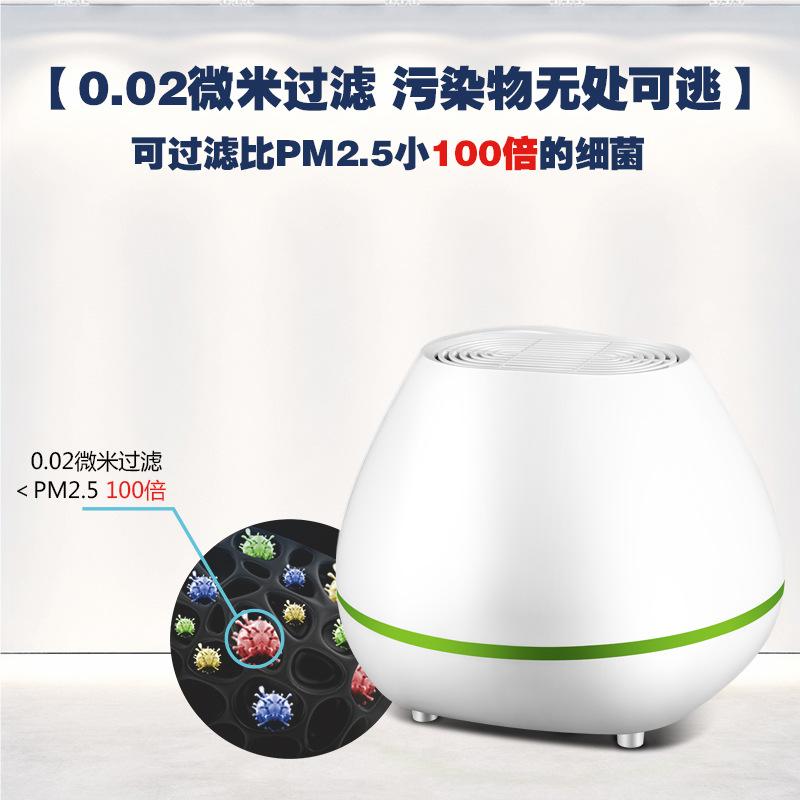 Mini aromaterapia purificador de ar (névoa de poeira no quarto além de formaldeído anion oxygen bar.