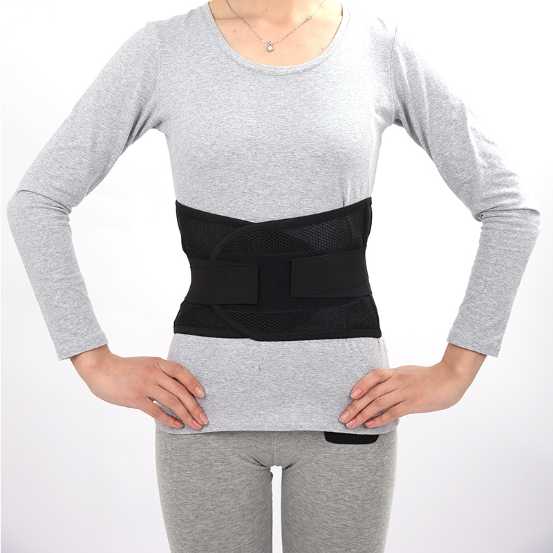 Dünne Taille atmungsaktives mesh taillengürtel erwärmung Gesundheit Stretch - bauch - unterstützung taillenumfang bandscheibenvorfall