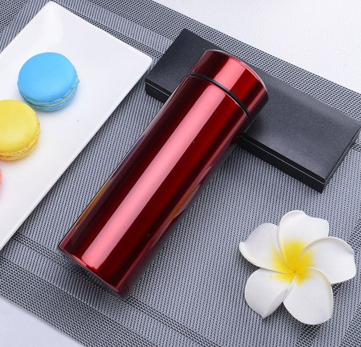 Insulation Cup straight matte stainless steel vacuum cup 304 men and women students commercial portable hupingshanensis cup of tea