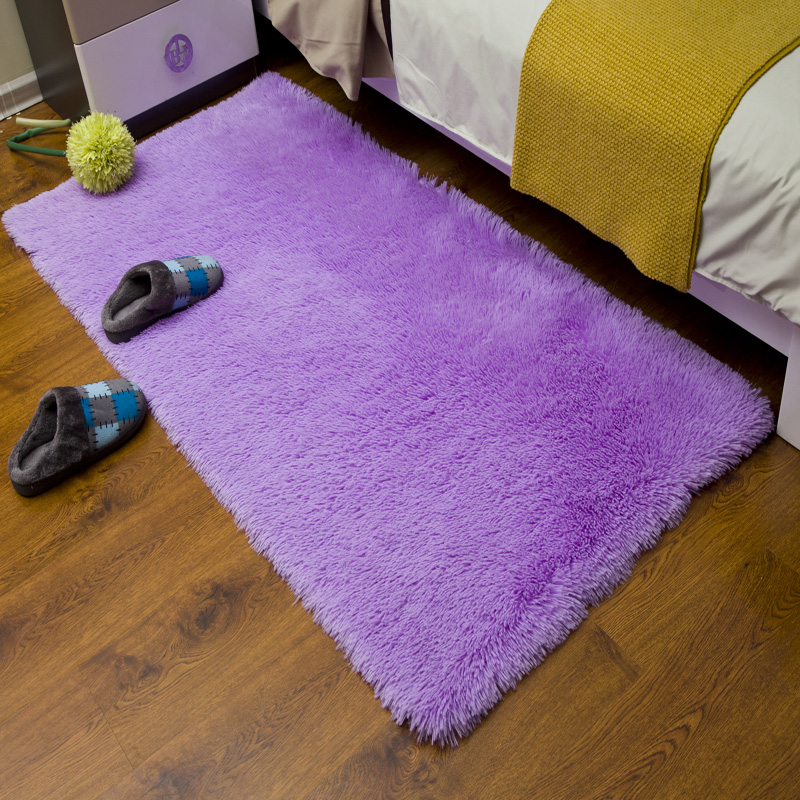 Thick hair lamb carpet color bedroom living room coffee table covered with tatami bed pad can be customized
