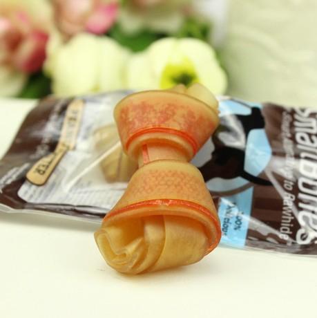 アメリカSmartBones洁齿かむガムペット犬骨歯ぎしり間食鶏肉ピーナッツバター健齿16 g /本