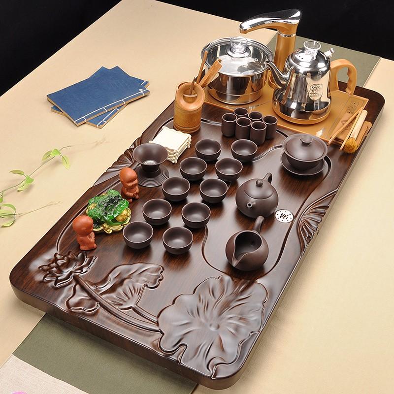 La nueva personalidad de la tetera automática de té té té el juego de té de combinación de calefacción eléctrica de uso doméstico