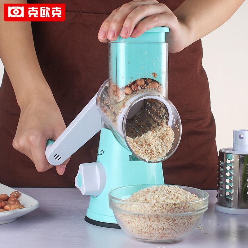El relleno de los ravioles de rábano picado coliflor Alemania empuja el cuchillo picadora trituradora de mezcla rápida mano multifuncional