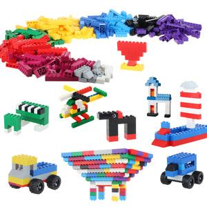 兼容乐樂高积木玩具小颗粒益智拼装儿童玩具积木墙桌男孩子女孩